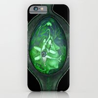iPhone & iPod Case featuring Eye green by Sarevski