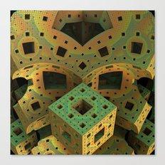 Puzzle Box Canvas Print
