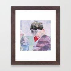 Precipice (detail) Framed Art Print