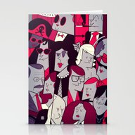 Stationery Cards featuring The Rocky Horror Picture… by Ale Giorgini
