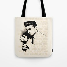 Don't Mess With The King Tote Bag