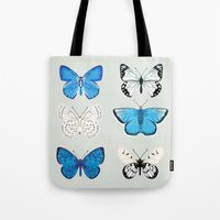 Lepitoptery No. 2 - Blue… Tote Bag