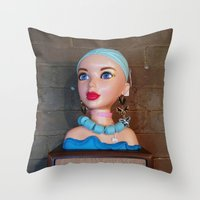 Mannequin - Detroit, MI Throw Pillow