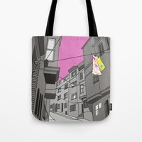 Historical Street View Tote Bag