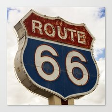 U.S. Route 66  Canvas Print