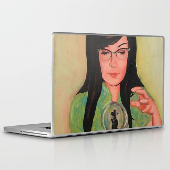 Future Is Uncertain Laptop & iPad Skin