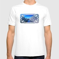 Rivanna River Mens Fitted Tee White SMALL