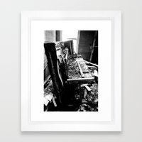 Upright Framed Art Print