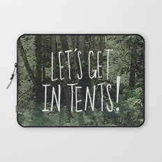 In Tents! Laptop Sleeve
