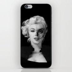Dead Celebrities Series Half Skull iPhone & iPod Skin