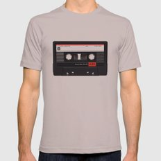 Old School Tape Mens Fitted Tee Cinder SMALL