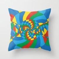 Captain Planet (Society … Throw Pillow