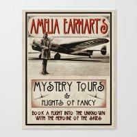 Mystery Tours & Flights … Canvas Print