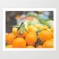 Orange Dreams Art Print