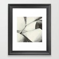 Ribbon - Pen & Ink Illus… Framed Art Print