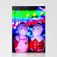 Merry Kokeshi Klause Stationery Cards