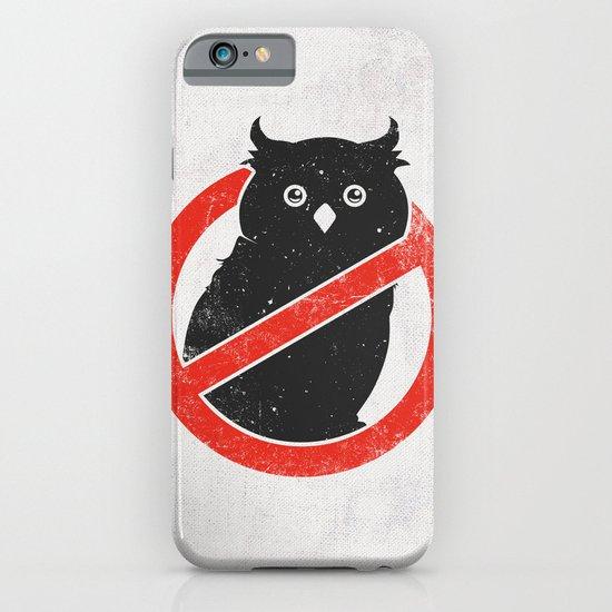 No Owls iPhone & iPod Case