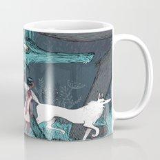 Woman Wolf wandering Mug