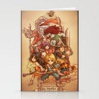 Final Fantasy IX Stationery Cards