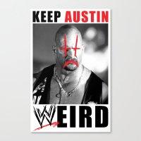 Keep Austin WWEird Canvas Print