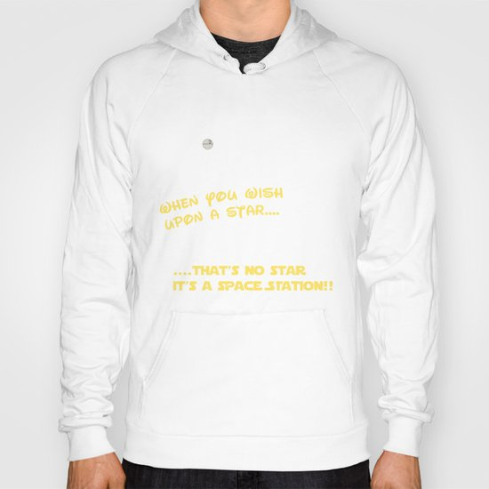 When you wish upon a Star/Space Station Hoody