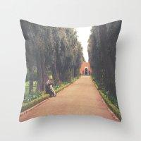 Marocco- La Mamounia Throw Pillow