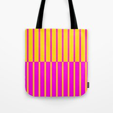 Canary Zebra Plays Piano Tote Bag