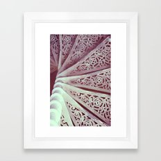 Step down pattern... Framed Art Print