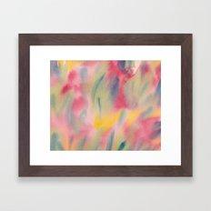 Vibrant summer colour Framed Art Print