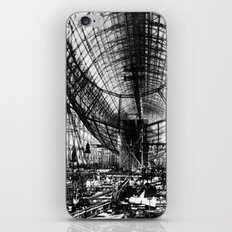 Airship under construction iPhone & iPod Skin