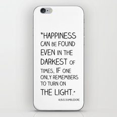 Happiness is always somewhere. iPhone & iPod Skin