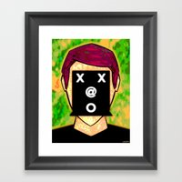 ANON Framed Art Print