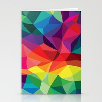 Color Shards Stationery Cards