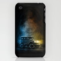 iPhone Cases featuring Land cruiser Legends FJ40 1 of 3 by Cruisershirts