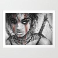 Vengeance  Art Print