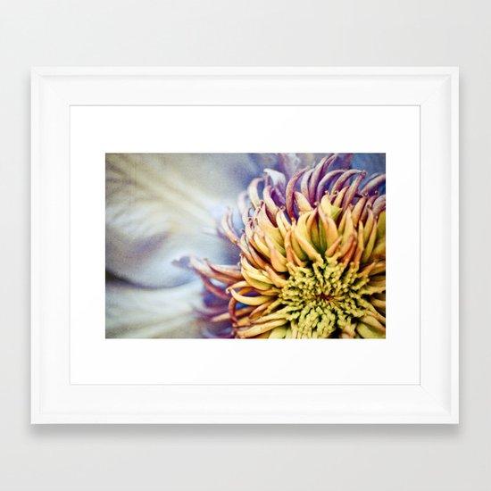 Lavender Fantasy Framed Art Print