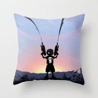 Punisher Kid Throw Pillow