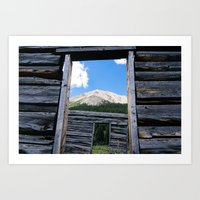 Still A Room With A View Art Print