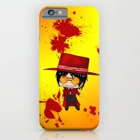 iPhone & iPod Case featuring Chibi Alucard 2 by artwaste