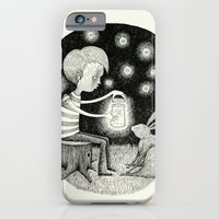 iPhone & iPod Case featuring 'Save Your Light For Darker Days' by Alex G Griffiths