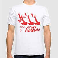 colitas Mens Fitted Tee Ash Grey SMALL