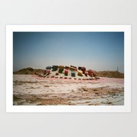 Salvation Mountain Upsid… Art Print