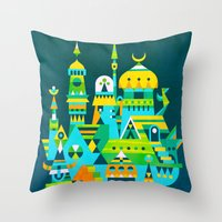Structura 7 Throw Pillow