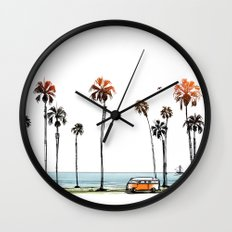 LA love  Wall Clock