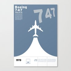 Boeing 747 Canvas Print