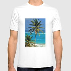 SEA DREAMING Mens Fitted Tee White SMALL