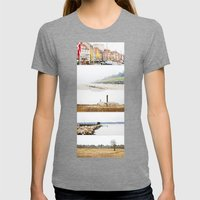 Denmark Womens Fitted Tee Tri-Grey SMALL