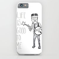 Life Is Good To Me iPhone 6 Slim Case