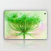 Queen Anne Lace Laptop & iPad Skin
