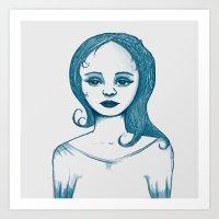 Monotone I Art Print
